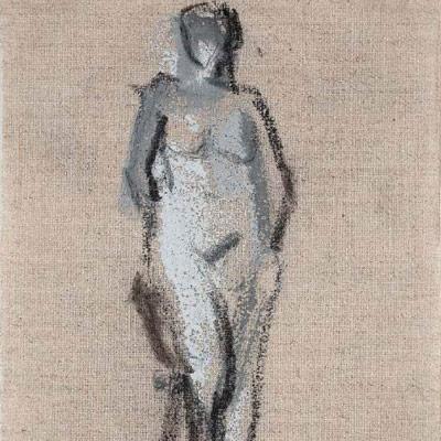 Elizabeth Higgins, Standing Nude